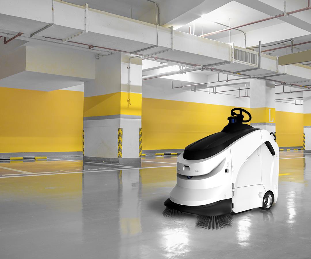 Fregadora robotizada